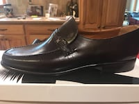 Mens brown hand made Italian leather shoes East Fishkill, 12533