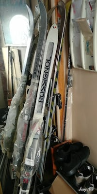 assorted ski blades 3118 km