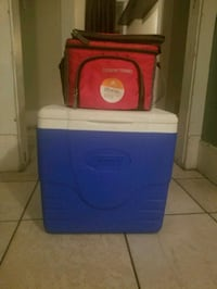 2 coolers for 15$