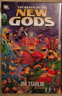 Death of the New Gods Graphic Novel Toronto, M2M 3S9
