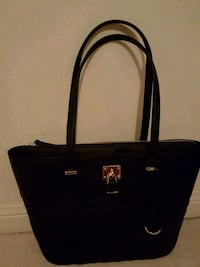 Nine West Black quilted purse