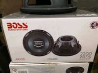 Boss audio subwoofer St. Catharines, L2P 2L2