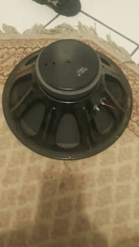 black and gray subwoofer speaker Fairfax County, 22032