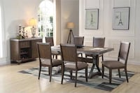 New dining table set 7 pcs Victorville, 92395