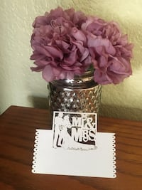 Mr & Mrs (qty 10 cards) table cards Corona, 92879