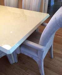 Table and chairs and console  Arlington Heights