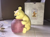 Whinnie The Pooh Ceramic Night Light West Easton, 18042