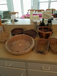 Assorted baskets, $10 for all