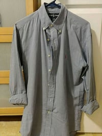 Blue checkered button-down shirt, Ralph Lauren Arlington, 22206