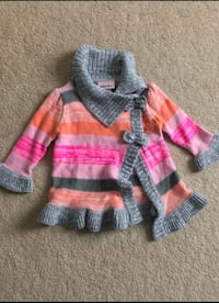 little lace girls sweater 12m in excellent condition (pick up only) Alexandria, 22304