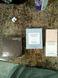 three assorted-brand\ fragrance boxes Gatineau, J8X 4J6