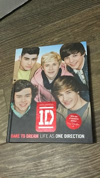 One Direction Hardcover Book