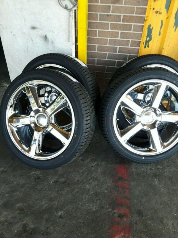22 Inch Tires >> Chevy 22 Inch Wheels And Tires
