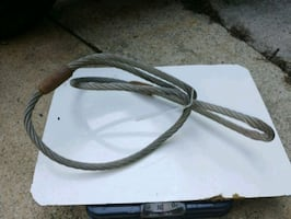 """5/8"""" cable hoist tow cable"""