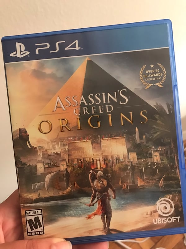 PS4 assassins creed origins  de559a83-1e5f-47c9-9462-0455f4e99723