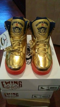 Patrick Ewing Olympic Edition Golden Sneakers Temple Hills, 20748