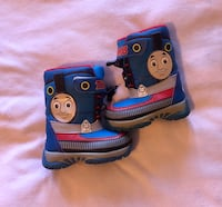 Size 6 Thomas boots for baby boy. Toronto, M1W 3H1