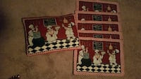 The Shelf table mats 5 in 1 pillow
