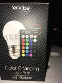 Led color changing light bulb w/ wireless remote Las Vegas, 89169