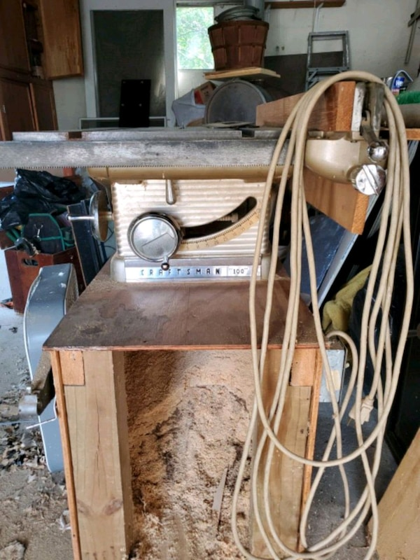 Old Craftsman table saw