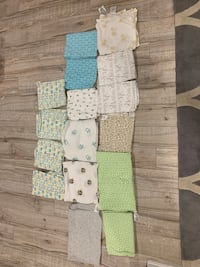 Baby receiving blankets - excellent condition