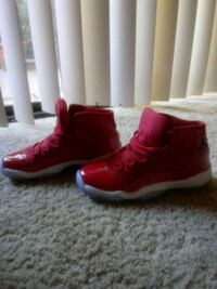 pair of red-and-white Nike sneakers Ontario, 91762