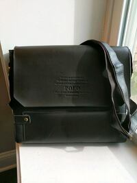 Leather Polo Messenger bag 44 km
