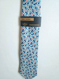 blue, white, and pink floral tie Cocoa, 32926