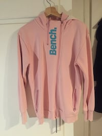 rosa Bench zip-up hettegenser