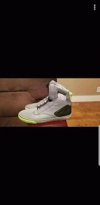 Mens Size: 9 1/2 (Radii Grey Black and Lime Green) Garden City, 67846