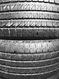 """20"""" Goodyear Fortera Tires Set of 4 (265X50R20) Price Reduced Again! $90 Mount Airy, 21771"""