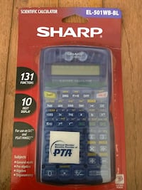 Sharp new scientific calculator Fairfax