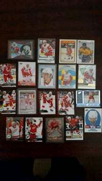 Detroit Red Wings Hockey Cards  Hamilton, L0R 1C0