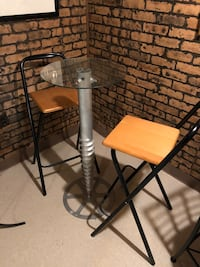Contemporary bistro set