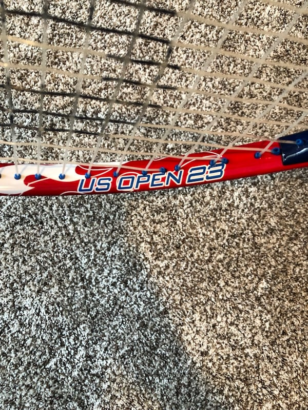 Wilson Red Boy's Youth Tennis U.S. Open Racquet 103e6604-91f1-45e9-b1fa-bcfe800f3ace