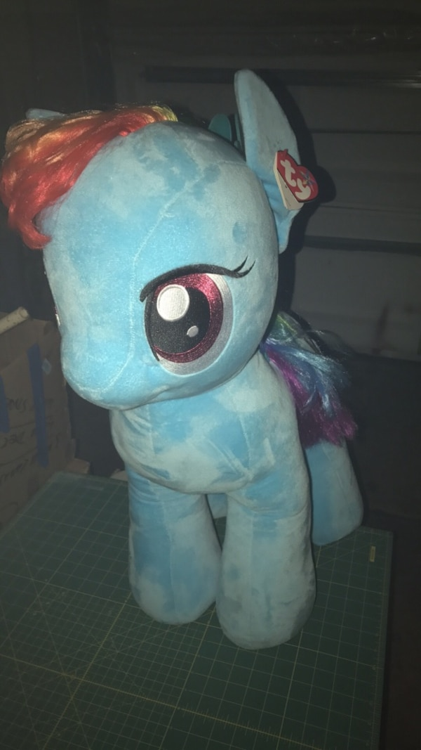Huge Rainbow Dash plush toy uk exclusive