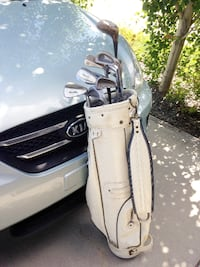 Golf clubs set + Bag, right handed.  CALGARY