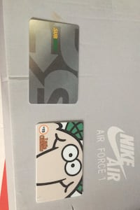 Subway and little caesers gift card