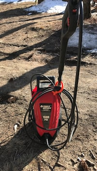 red and black Craftsman pressure washer Acton, 04001