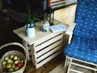 side table from recycled wood pallets Sooke