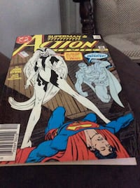 DC SUPERMAN & ?????? ACTION COMICS 595 Rockville