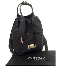 Womans versace backpack/purse