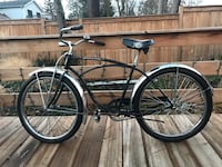 1950's Schwinn cruiser bicycle -Vintage Burlington, L7S 1R9