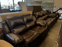 Love seat ,sofa ,and recliner leather  Las Vegas, 89121