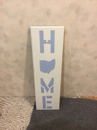 Ohio Home sign- State outline  Brunswick, 44212