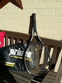 black prince tennis racket with case