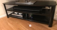 Moving Sale - Glass TV Stand Newton, 02466
