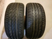 Brand new tires 215/50/17 599 km