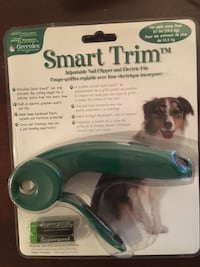New Smart Trim Adjustable nail clipper / electric file for cats and dogs 164 mi