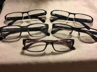 Guess Eyeglass Frames. All 5 for $100.00. No cases. Houston, 77035